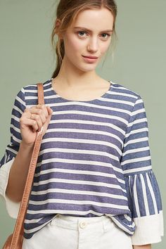 Slide View: 3: Mariana Striped Top