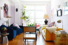 How to Set Up Your Living Room (Without a Focus on the TV) | Apartment Therapy