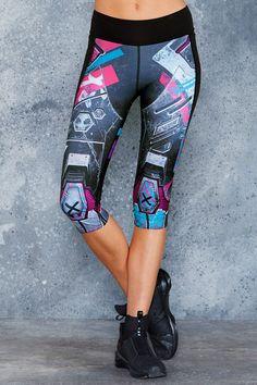 Kawaii Mecha Combat Pants - LIMITED ($100AUD) by BlackMilk Clothing
