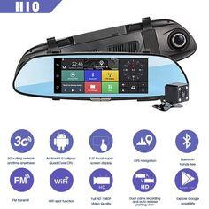 Car Camera, Video Camera, Mirror Video, Bluetooth, Reverse Parking, Lens Aperture, Full Hd 1080p, Car Rear View Mirror