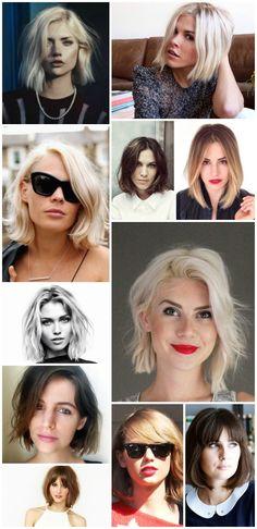 Idées coupe de cheveux carré long flou / sur withalovelikethat.fr