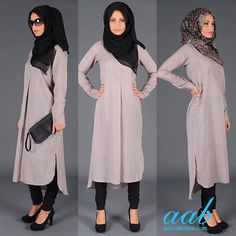 How to look Chic with zero effort? LILLA KURTI Soft & subtle cotton and silk kurti, carefully contoured to add instant chic to your everyday look. Bring the kurti to life with accessories and pair with worn on jeans or leggings. Finish with a Black hijab or a print with black and purple accents in chiffon silk... Shop Now http://www.aabcollection.com/shop/product/lilla-kurti/471