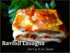 Easy Ravioli Lasgana