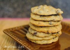 Banoffee Chocolate Chip Cookies - Inside BruCrew Life
