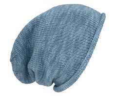 Oma Inge; Sommerbeanie #stricken #denim #catania