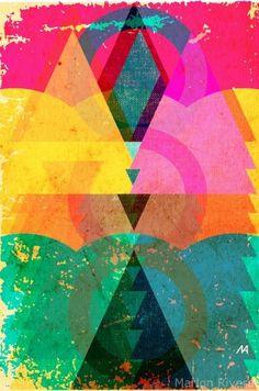 Stunner color. #graphics #illustrator