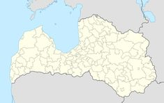 Alsunga is located in Latvia