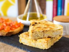 Tortilla de patatas vegana y sin gluten | Delantal de Alces