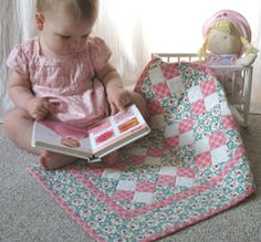 FREE Doll Quilt Pattern
