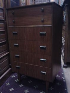 1960s chest of drawers in!  #399.00 at India Street Antiques, San Diego.  We ship worldwide!