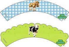 Candy Bar La Granja de Zenon Cumpleanos | Todo Candy Bar Farm Animal Cakes, Farm Animals, Ideas Para Fiestas, Minnie Mouse, Kids Rugs, Birthday, Banners, Bar, Stickers