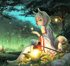 Phantom of the Opera nightcore by extreme nightcore Anime Girl Neko, Anime Chibi, Ange Anime, Art Anime Fille, Chica Gato Neko Anime, Anime Wolf Girl, M Anime, Anime Art Girl, Kimono Animé