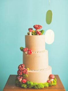 for a whimsical fairy tale of a wedding or a super mario bros