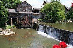 Gatlinburg, TN The Old Stone Mill