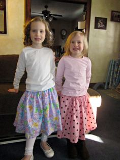 Twirly Skirts: A Simple Sewing Tutorial