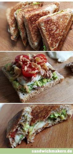 Das beste Sandwichmaker Rezept mit Avocado.