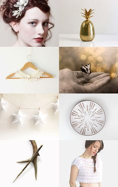 Golden Days by Mila Dagmar on Etsy--Pinned with TreasuryPin.com