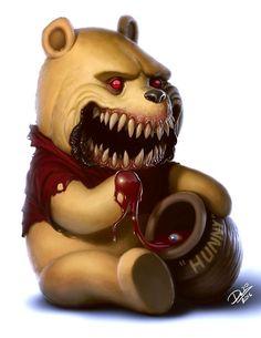 Artista transforma personagens infantis em monstros - TecMundo