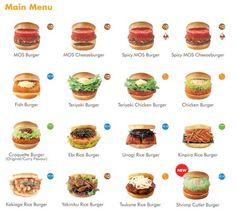Mos Burger.