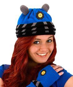 Love this Blue Dalek Beanie on #zulily! #zulilyfinds
