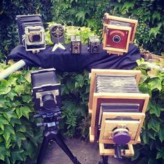 Wet plate cameras