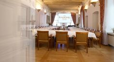 Royal Hall, official meeting set.  Ask about renting a hall: sales@palacbonerowski.pl #palacbonerowski #krakow #marketsquare #mainsquare #poland #luxury #travel #business #event #conference  www.palacbonerowski.pl
