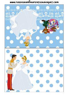 Cinderella: Free Printable Invitations.