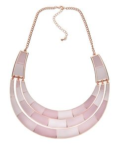Ombre Enamel Plate Collar from Diva (AUD $24.99).