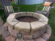 Easy DIY firepit