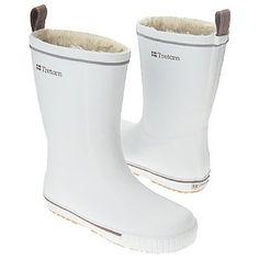 Tretorn - Women's Skerry Vinter White-Brown Rain Boots: Shoes