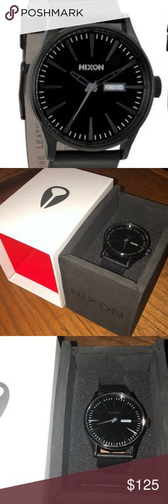 ❗️Nixon Sentry Gently worn. Excellent working condition. Come with original box. Nixon Accessories Watches