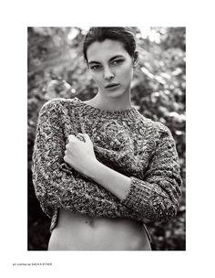 Vittoria Ceretti by Bojana Tatarska || Philosophy F/W 2014