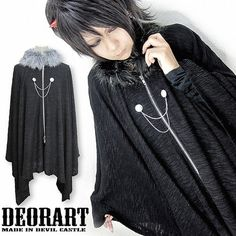Long Knit Mantle w/ Fur / http://www.cdjapan.co.jp/products?term.shop=apparel&term.brand_id=100000102&opt.is_group_default=1&order=new