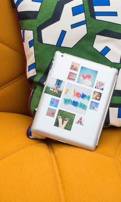 These cute reusable stickers can be made with photos from your Instagram, camera-roll or desktop. A nice idea to stick your memories around! And they do free delivery worldwide