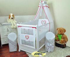 Súpravy do postieľky | 14-dielne súpravy do postieľky | AMAL 14-dielna súprava do postieľky HRÁŠKY, vzor 6, 120x90 cm | Všetko pre Vaše bábätko - AMAL.sk