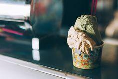 Cow and the moon -- world's best gelato winner. 131 Enmore Road, ENmore, NSW (near newton, Sydney)