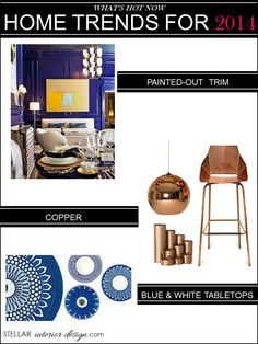 2014 home decorating trends | Best Home Decor Blogs- Stellar Interior Design