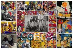 Let do things different and different things ... COBRA is the platform for change. From: Perspectives on art by Henk van Os, via Behance
