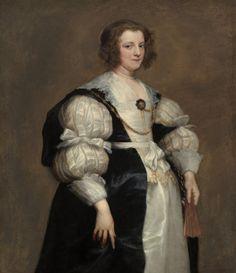 Portrait of Dona Polyxena Spinola Guzmán de Laganés, Anthony van Dyck, 1630