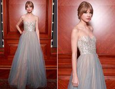 Taylor   Muitas camadas de tule, muitas camadas de tule, muitas camadas de tule... Precisa dizer algo mais sobre esse vestido DIVO?!