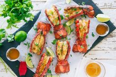 ... on Pinterest | Grilled Lobster Tails, Lobster Tails and Oysters