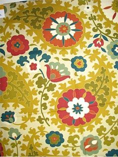 Sonatina Gardens, a 100 percent cotton fabric by Richloom Fabrics.