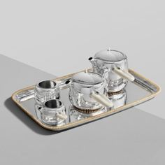 Marc+Newson+designs+£82,000+silver+tea+set+with+mammoth-ivory+handles+for+Georg+Jensen
