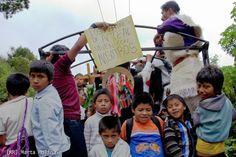 Comunicado sobre el retorno de los desplazados de la Colonia Puebla, municipio de Chenalhó, Chiapas, México.