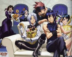 D. Gray Man Awesome image... totally fits the characters!!