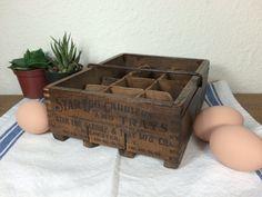 Antique Wooden Star Egg Carrier FREE by CashmereAndDriftwood