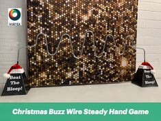 The Buzz Wire Steady Hand Game is suitable for Brand Activations, Family Fun Days, Exhibitions, Parties & more. Branding available for this Steady Hand Game. Office Christmas Party, Christmas Party Games, Hand Games, Family Fun Day, Corporate Events, Festive, Party Ideas, Entertaining, Corporate Events Decor
