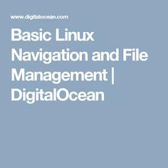 Basic Linux Navigation and File Management | DigitalOcean