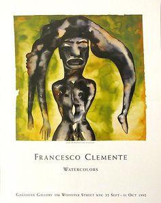 Shop - Francesco Clemente - Watercolors Poster