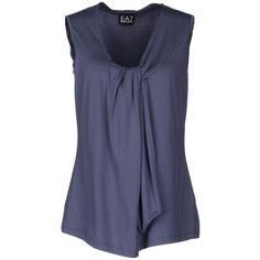 Ea7 Sleeveless T-Shirt and other apparel, accessories and trends. Browse and shop related looks.